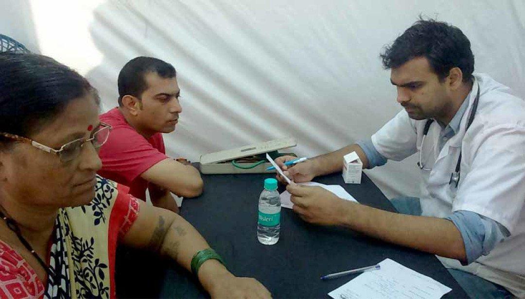 Shiv Sena organises health camp at Goregaon