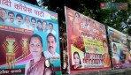 Political banners defaces Ghatkopar