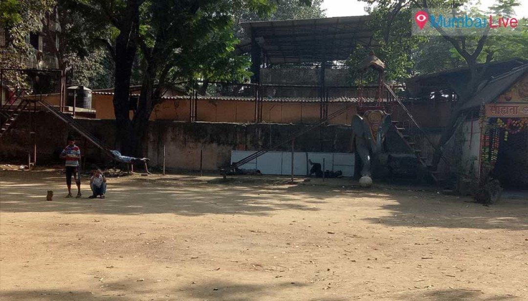 Prerna ground awaits renovation