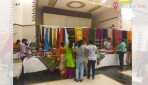 Handloom exhibition at Scouts Hall