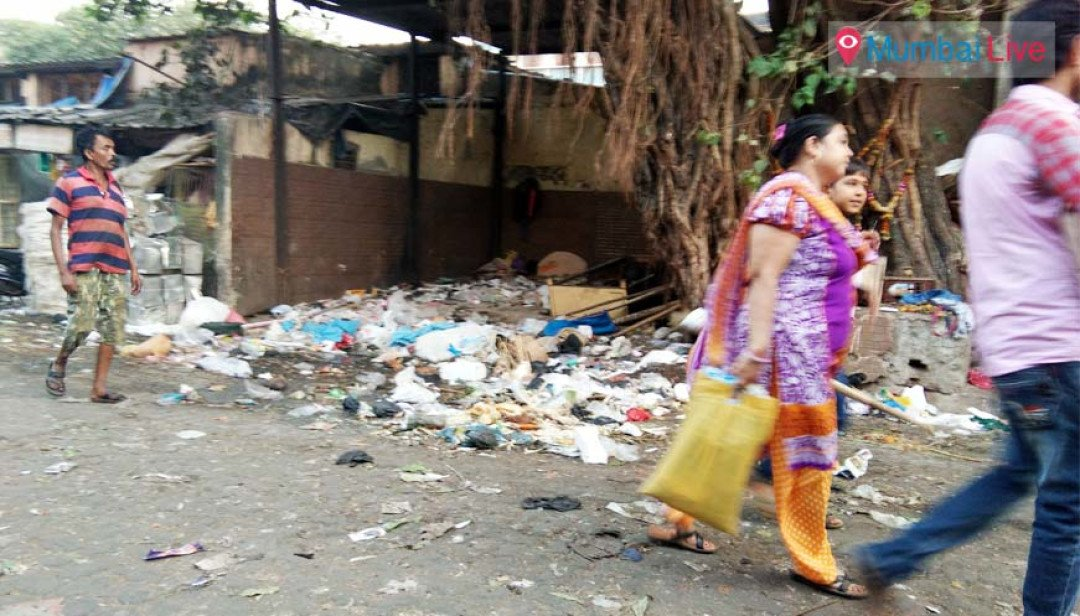 कचरा शेडची दुरवस्था