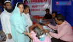 Beneficiaries swarm at medical camp
