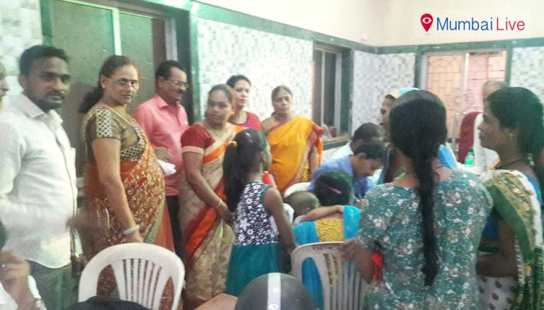 Health camp at Ramabai Colony