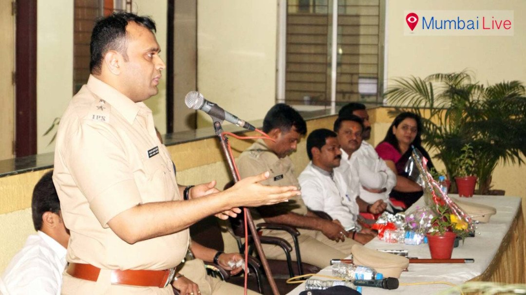 Ghatkopar police urges people to play safe holi