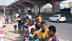 Orphan children celebrate Diwali