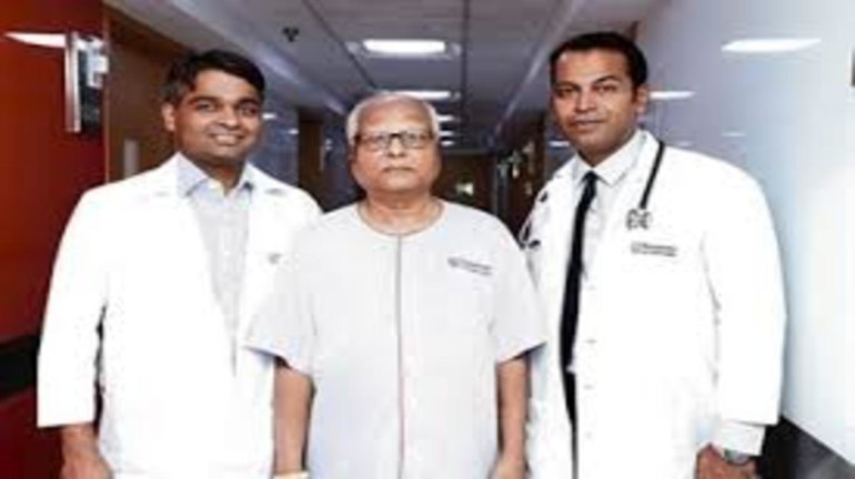 A 62-year-old patient receives the first implantable loop recorder in Maharashtra