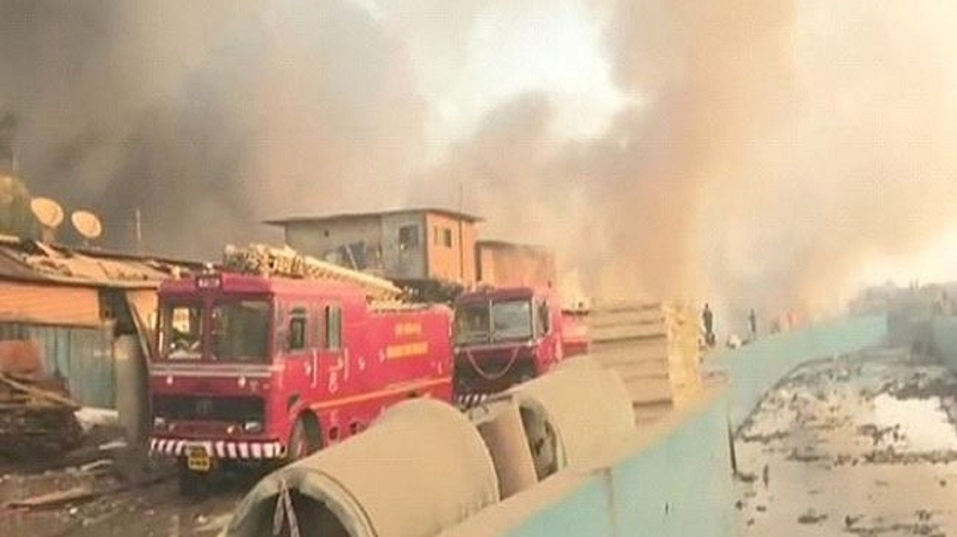 Fire breaks out near Mankhurd scrapyard, brought under control
