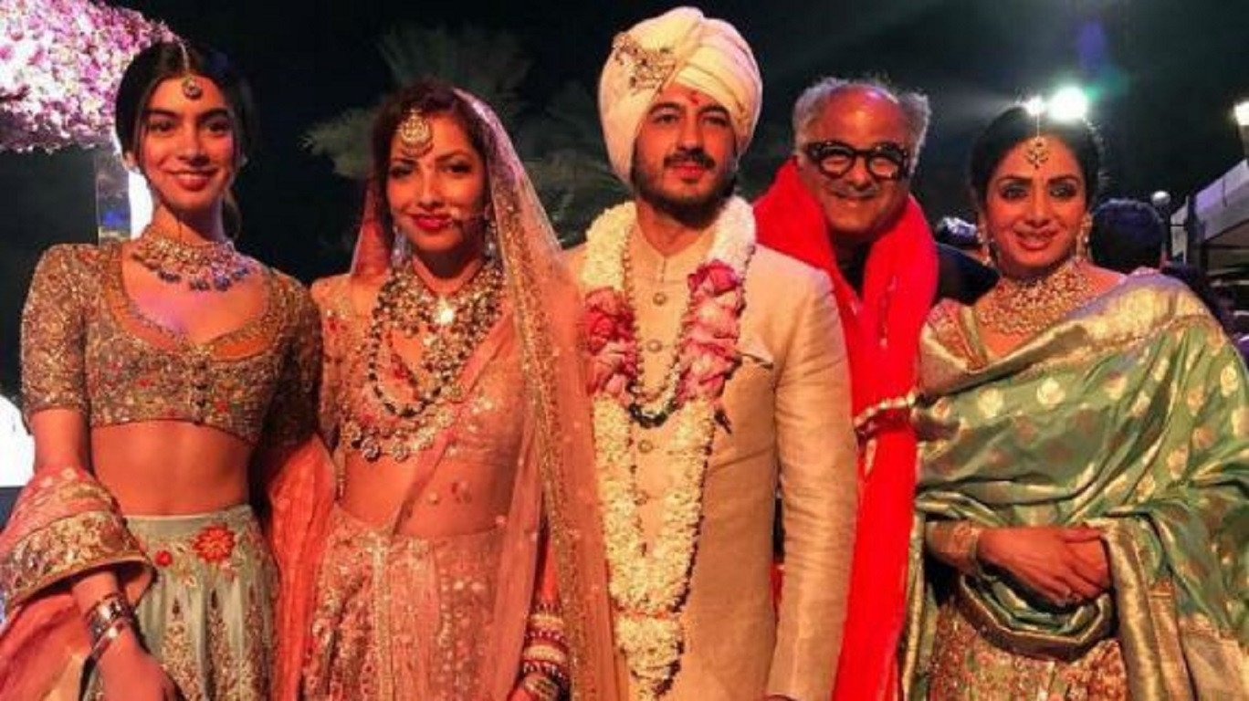 Last Pictures Of Sridevi From The Wedding In Dubai