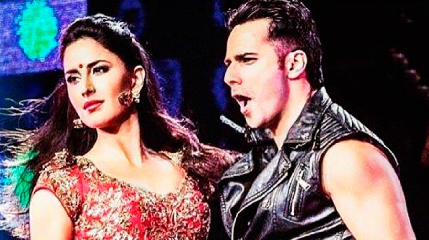 Varun Dhawan and Katrina Kaif in Dance 3D Movie