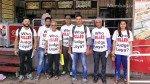 जज लोया मामला: मुंबई में अनोखा टीशर्ट आंदोलन