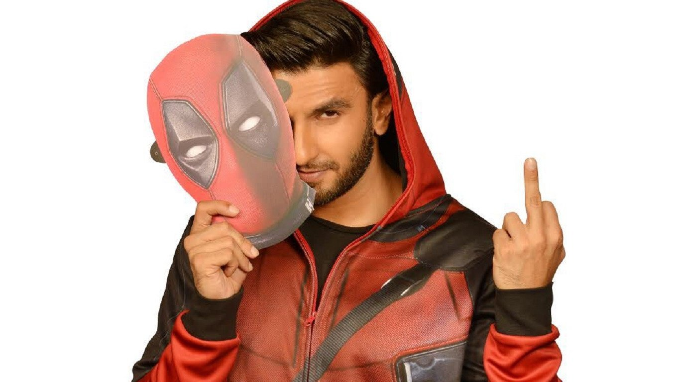 Actor Ranveer Singh lends voice for Hindi version of Marvel's Deadpool 2
