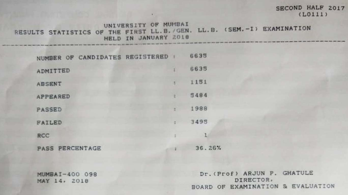 MU defers law exams by a week