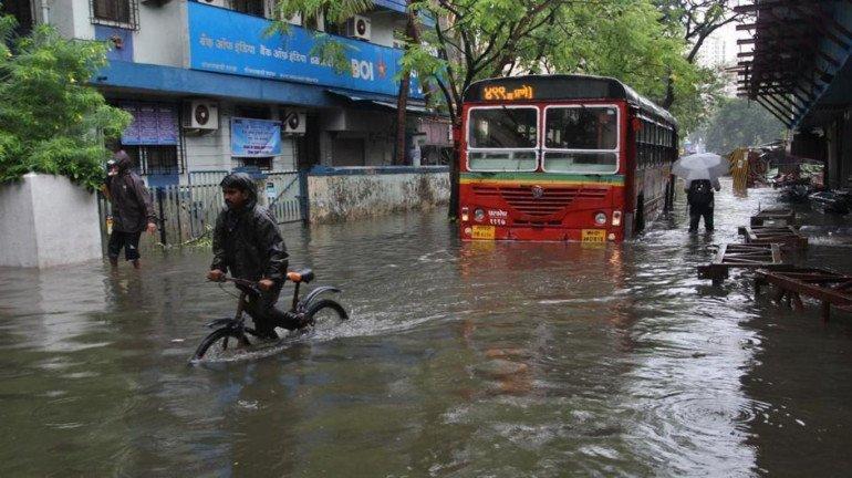 Parts of Badlapur, Bhiwandi, and Kalyan Witness Severe Waterlogging