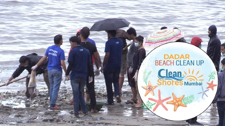 Jay foundation and United Way to clean Dadar Beach everyday for the next 18 months