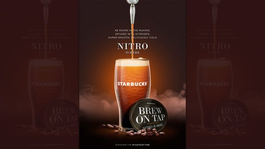 Starbucks Introduces Nitro Coffee Brew On Tap In India