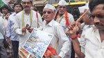 प्रशासन के खिलाफ कांग्रेस का 'कमल' आंदोलन