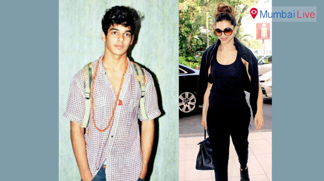 Ishaan plays Deepika's brother