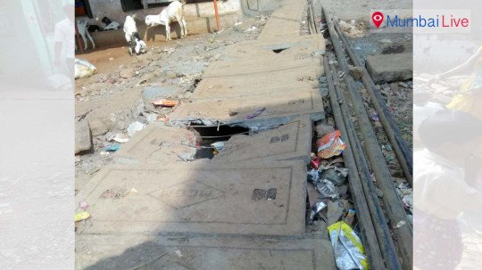 Gutter woes at Goregaon