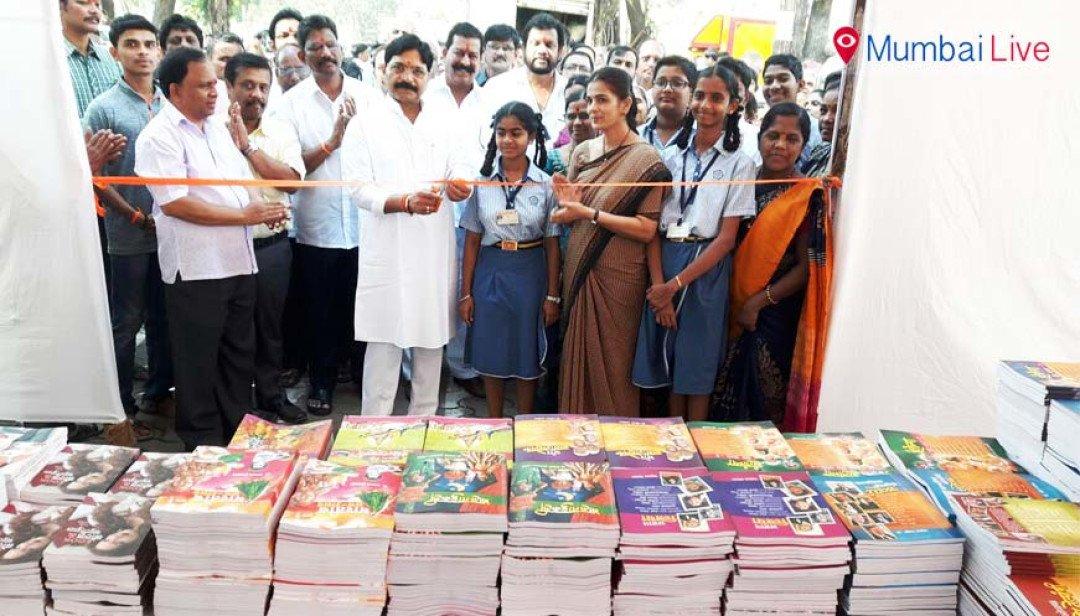 Grand book expo in Jogeshwari East