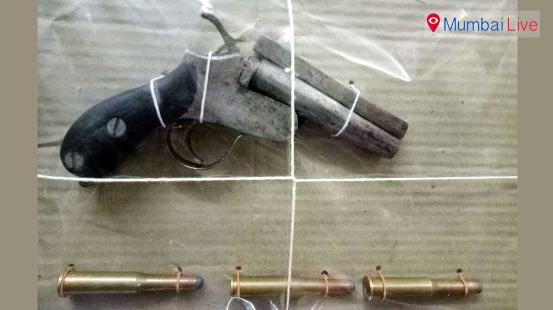 D company hand behind seized cartridges?