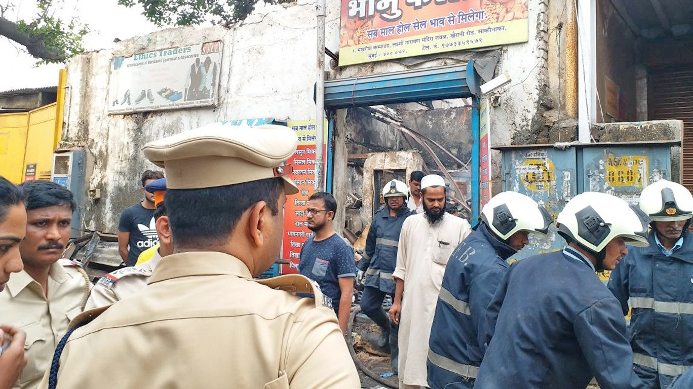 Major fire breaks out at Mumbai snack shop, at least 12 killed