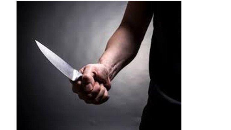आस्तीन चढ़ाने पर किया चाकू से हमला