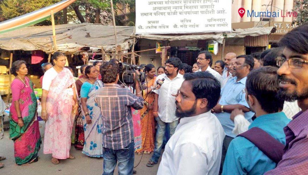 Fishermen say 'no' to Shivaji Memorial