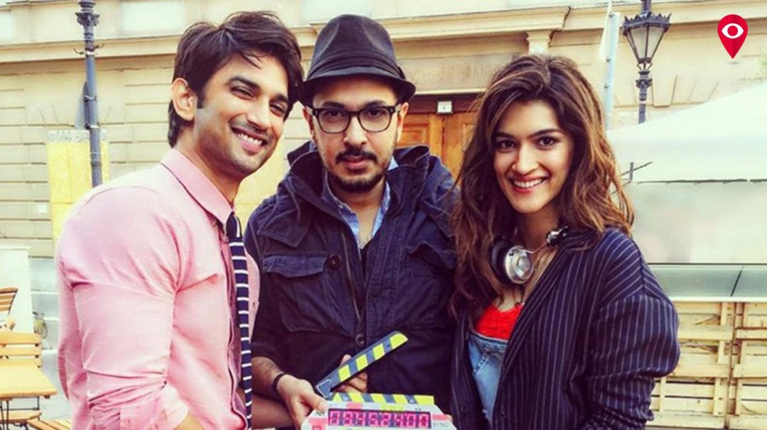Sushant Singh Rajput and Kriti Sanon live the DDLJ moments