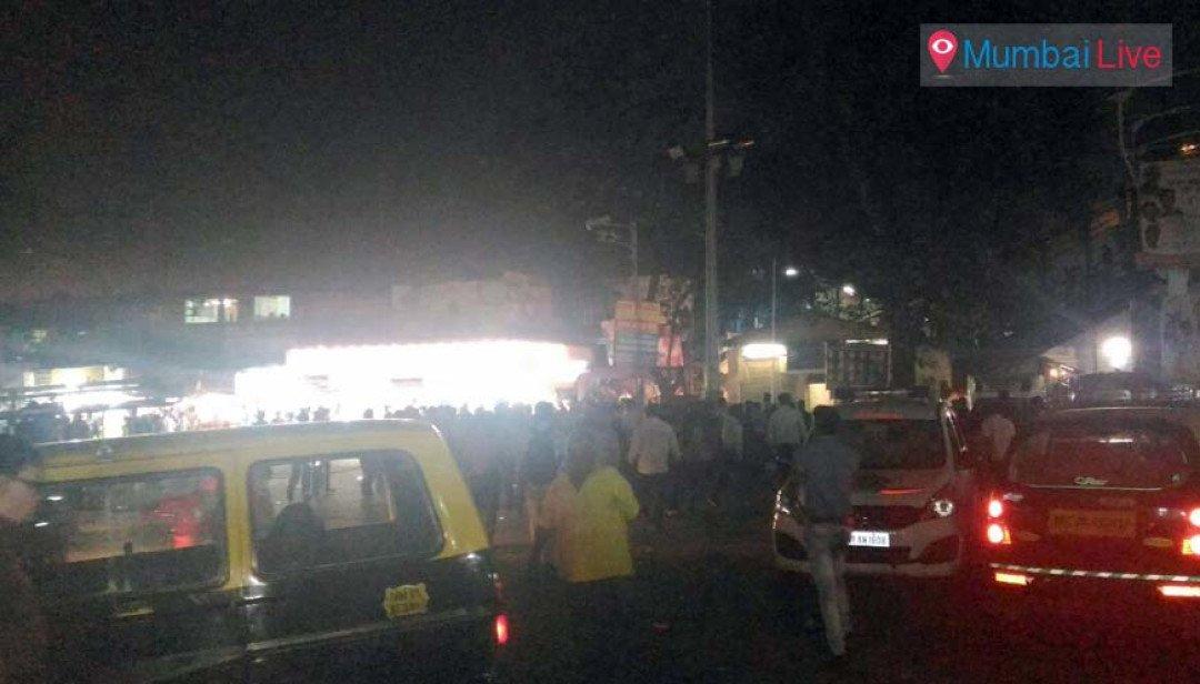 Street lights trouble in Kurla
