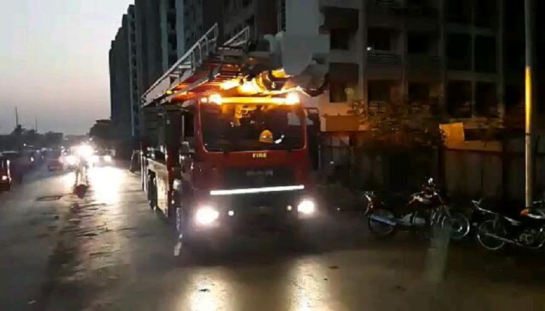 Fire breaks out in Kurla's building
