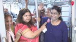 Minister Vidya Thakur made it to ladies special only to mark presence