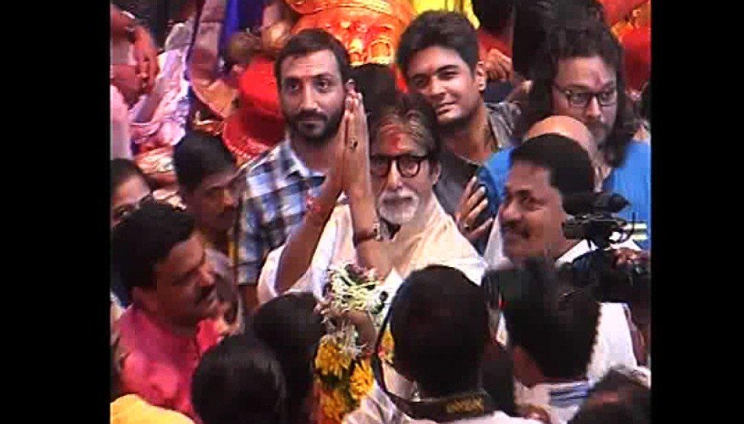 Amitabh Bachchan visited Lalbaug