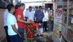Shiv Sena lays the foundation stone