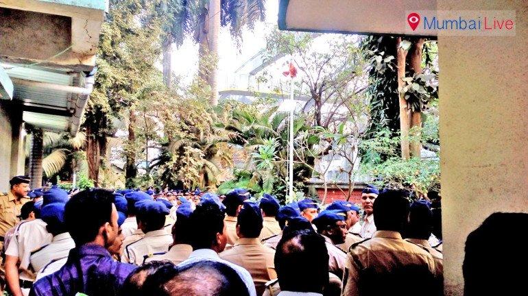 चेंबूर पोलीस ठाण्यात प्रजासत्ताक दिन उत्साहात साजरा