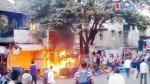 Vadapav stall in Mulund catches fire