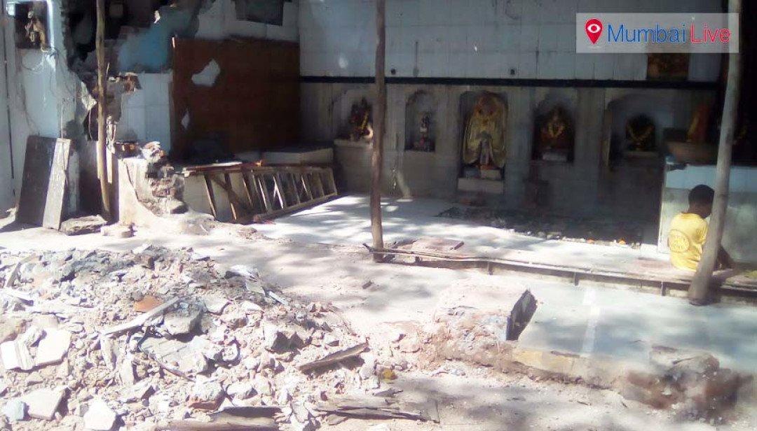 BMC demolishes Bhairavnath temple