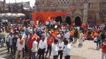 मुंबईत मराठा समाजाचा निर्णायक महामोर्चा