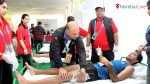 11 marathon participants admitted to hospital