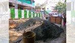Sewer line bursts in Matunga