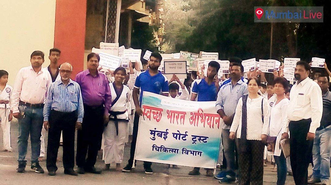 वडाला में स्वच्छ भारत अभियान के माध्यम से जनजागृति