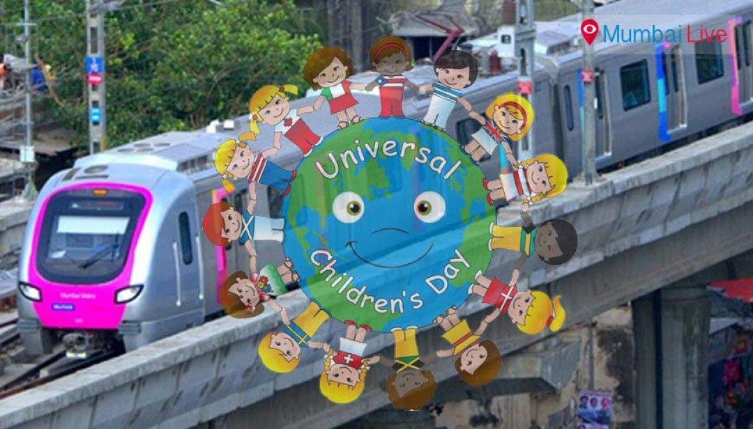 Metro to celebrate Children's Day