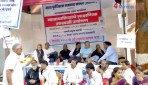 Mhada residents goes on hunger strike