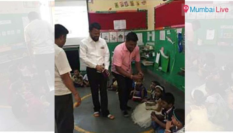 MNS workers celebrate Children's Day