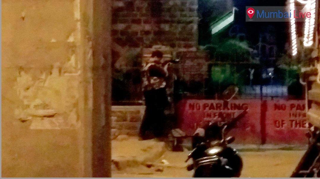 भायखळ्यात पोलिसांनी केलं मॉक ड्रिल