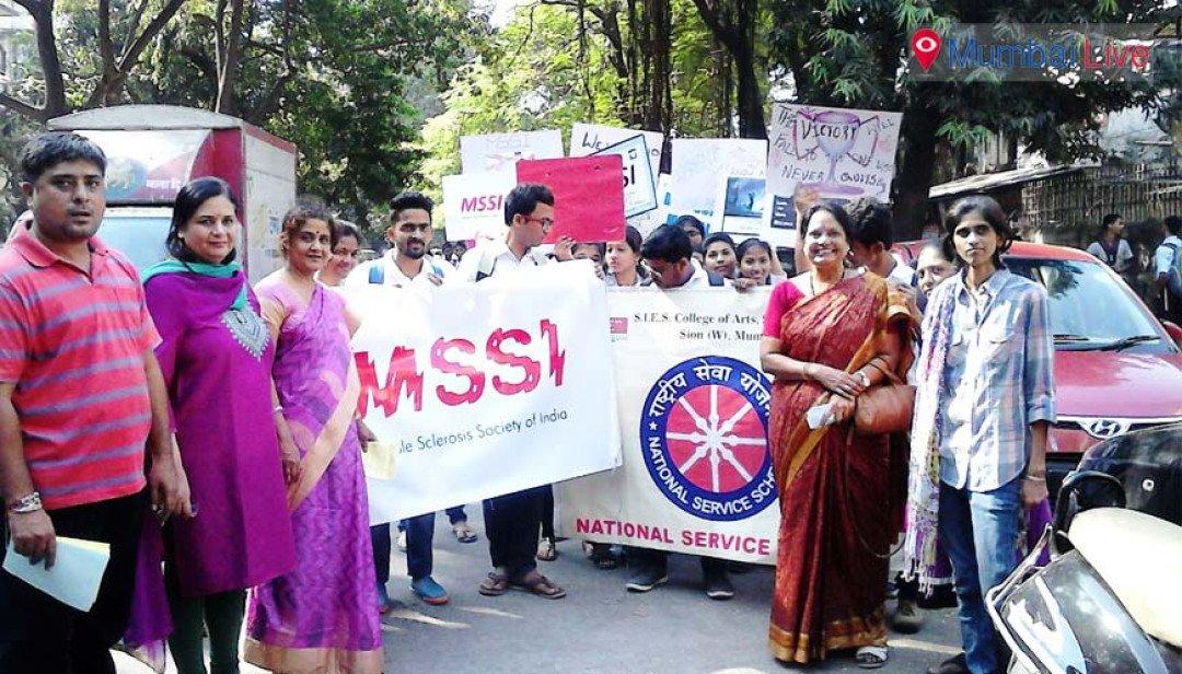 मल्टिपल स्क्लेरोसिस के लिए रैली