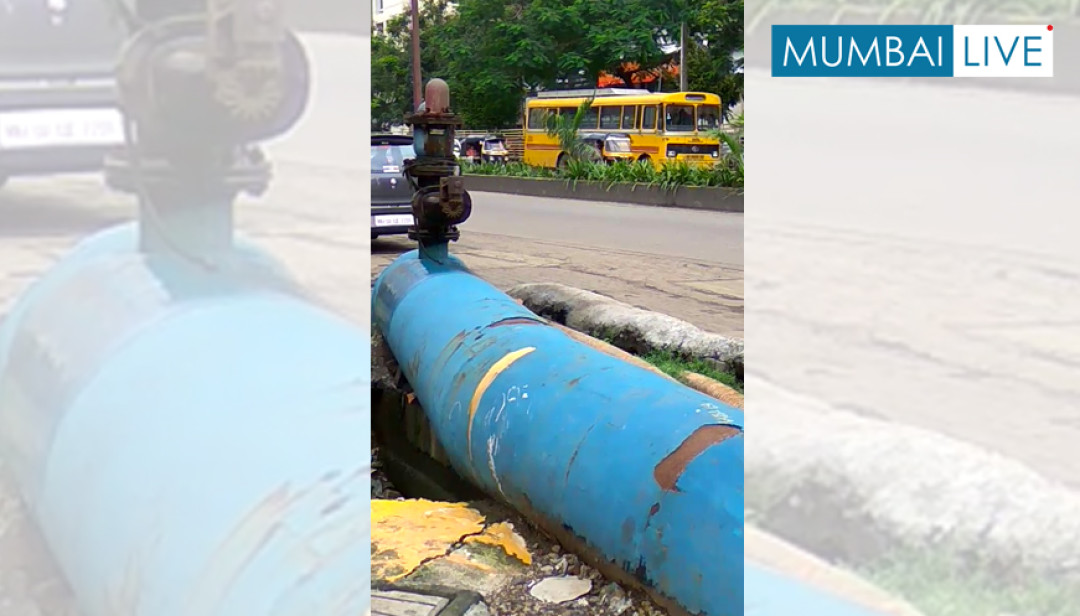 Malad's Leaking Water Pipeline