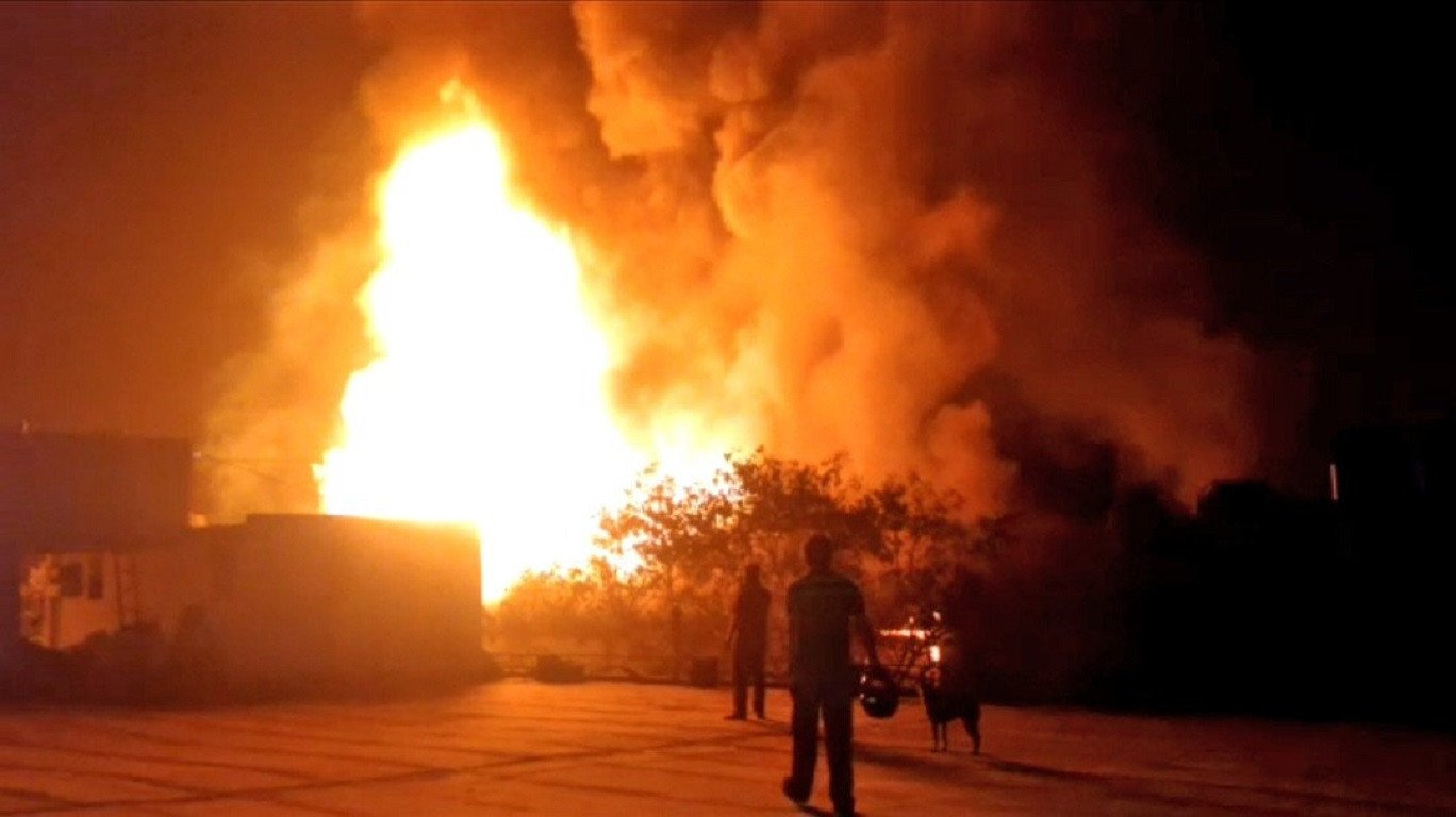 Fire erupts in Mumbai's Vasan Udyog Bhavan, no injuries reported