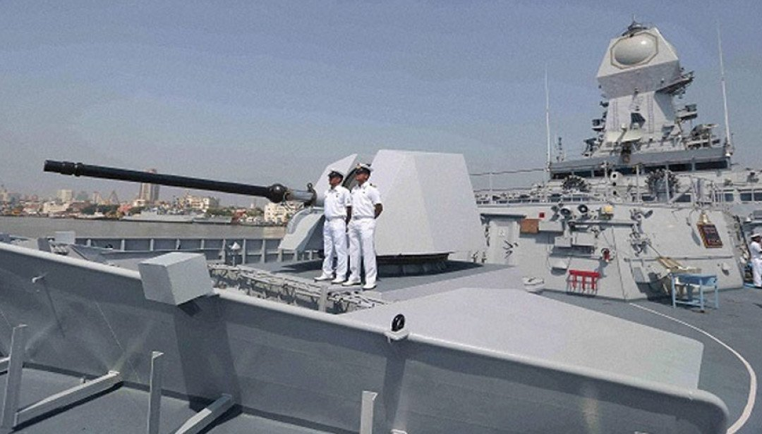 Indian Navy put on high alert