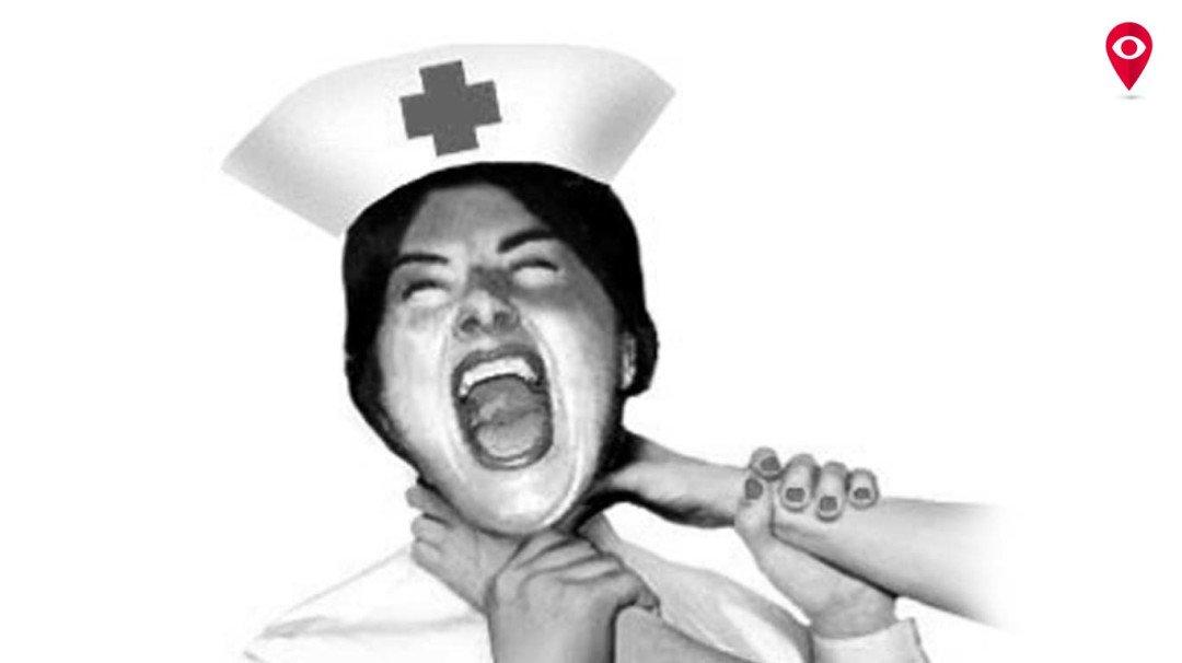 डिस्चार्जला उशीर झाला म्हणून त्याने केली नर्सला मारहाण