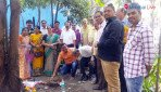 Sena corporator to beautify traffic island